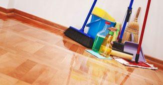 nettoyer une maison